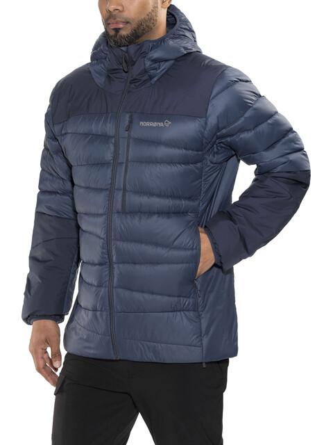 Norrøna Falketind Down750 Hood Jacket Men Indigo Night